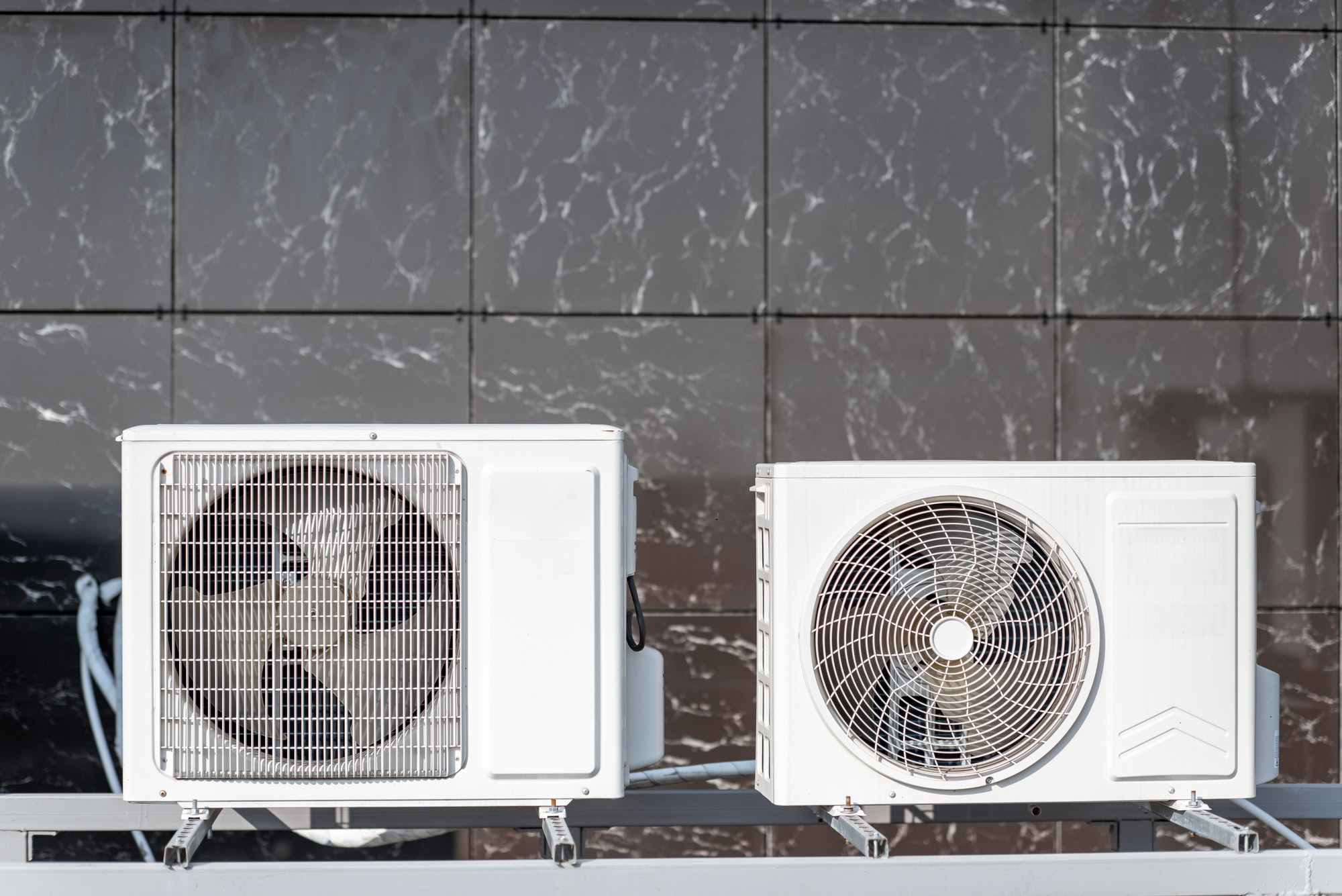 Outdoor units of the air conditioner